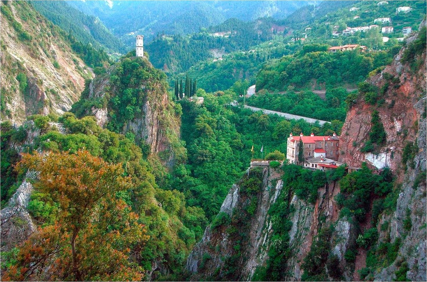 Prousos Monastery – Black Cave